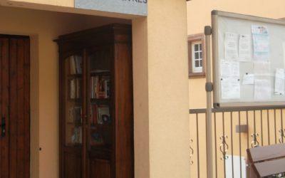 Installation d'une boite à livres