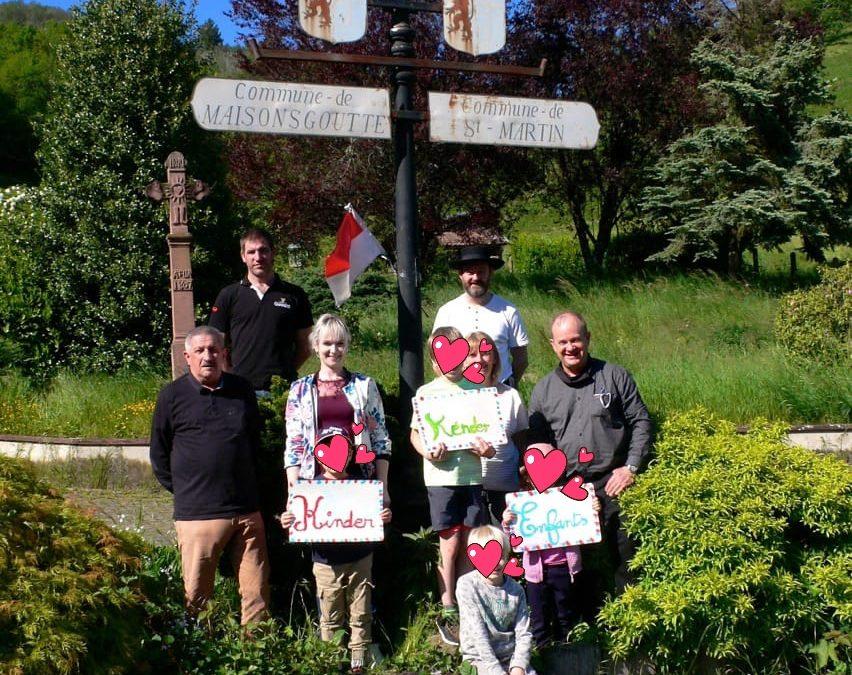 La Commune de Maisonsgoutte soutient la langue régionale